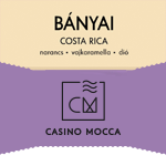 Costa Rica (B/e)  Bányai Casino Mocca / eszpresszó 200g