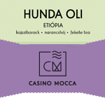 Etiópia (HO/e)  Hunda Oli Casino Mocca / eszpresszó 200g