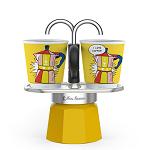 Bialetti Mini Express (L)  Lichtenstein 2adagos