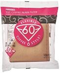 Hario V60 (02) papírfilter (B)  barna 100 db / csomag