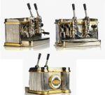 Rugós csaptelepes gép  84 x 65 x 45 mm/ 320 g