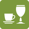 Csészék, poharak, kávékiöntők